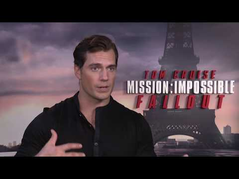 MISSION IMPOSSIBLE 6 Fallout Henry Cavill Interview