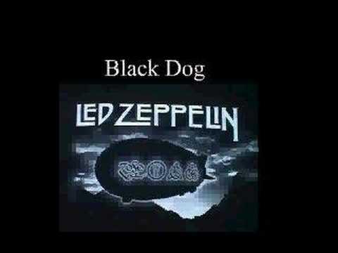 Led Zeppelin Black Dog Youtube Video