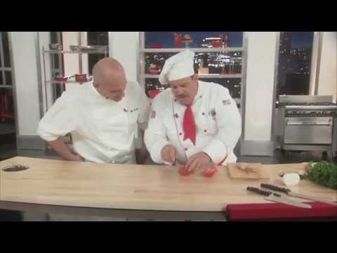 Miracle Blade World Class Knives TV Infomercial: Part 1-Chef Tony Presents The MBWC