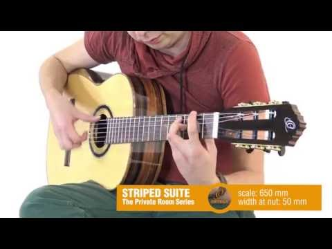 ORTEGA GUITARS | STRIPED SUITE - The Private Room Series