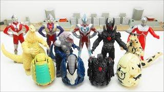 Video ULTRA EGG  Ultraman Ginga Tiga Seven ULTRA HEROES  Redking Golza Dark Lugiel  MONSTERS   BANDAI MP3, 3GP, MP4, WEBM, AVI, FLV Oktober 2018