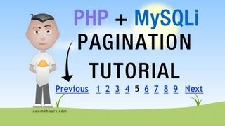 PHP Pagination Tutorial MySQLi Google Style Paged Results Programming
