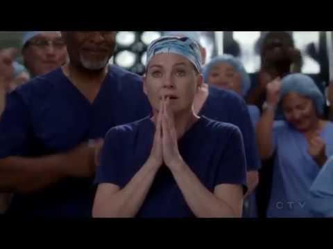 Grey's Anatomy 14x07 Meredith Wins The Harper Avery Award and Calls Christina
