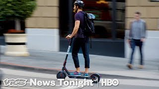People In San Francisco Are Pissed Over These Electric Scooters (HBO)
