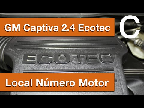 Dr CARRO Local Número Motor GM Captiva Ecotec