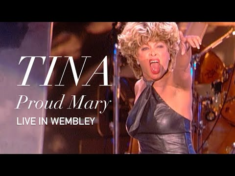 Tina Turner - Proud Mary - Live Wembley  (HD 1080p)