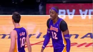 Steve Nash heated exchange with Dwight Howard