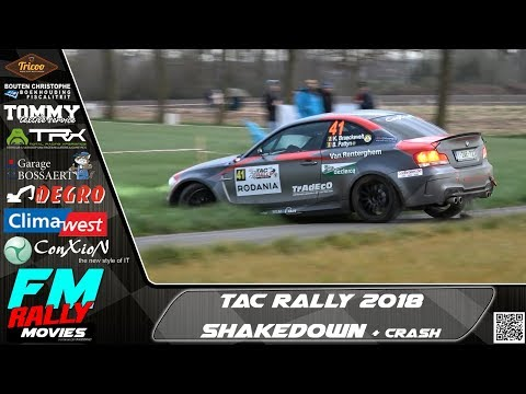 TAC rally 2018 | SHAKEDOWN | Crash & Show [HD]