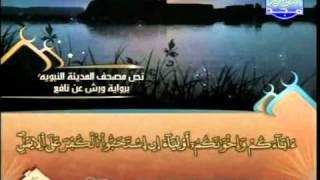 المصحف المرتل 10 للشيخ العيون الكوشي برواية ورش