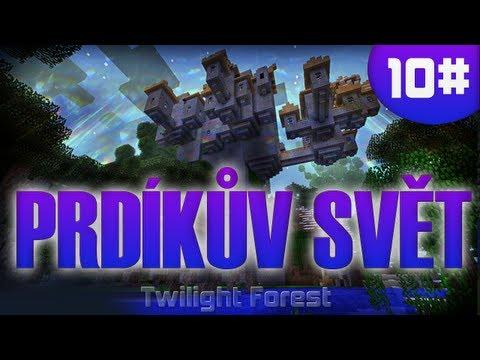 [Vyžírka & Megii plays] Prdíkův SVĚT #9 (Minecraft-Twilight Forest) HIDRA DEAD