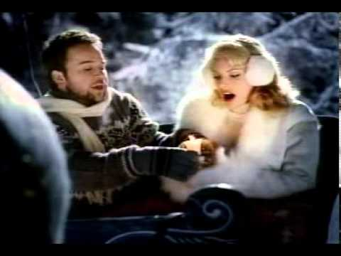 Romantic Sleigh Ride BUDWEISER BEER