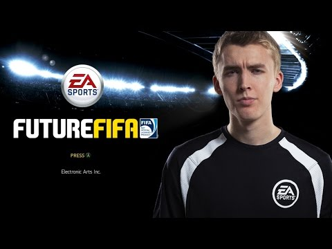 Amateur footballers re-enact FIFA videogame video