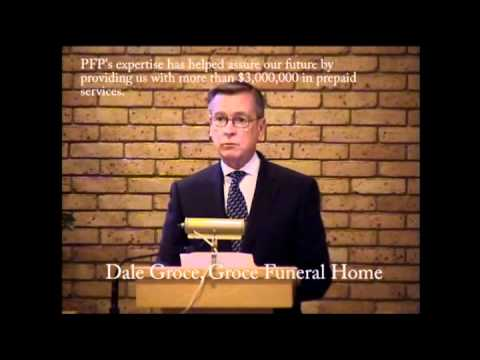 Preneed Funeral Programs, Inc. (PFP) marketing success told by Dale Groce, Groce Funeral Home