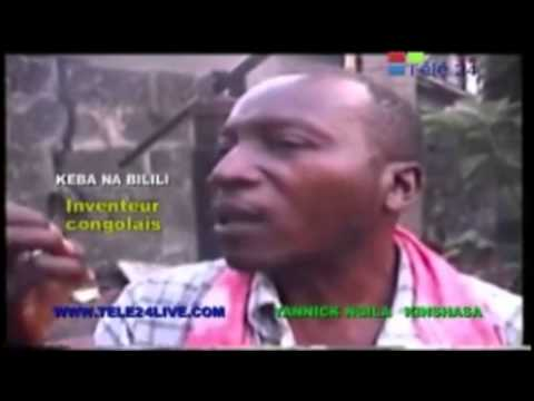 TÉLÉ 24 LIVE: Un inventeur congolais  ouvre  son coffre fort  et  tire le rideau de sa maison avec  son téléphone mobile, Mais l'homme est ignoré par le gouvernement Congolais