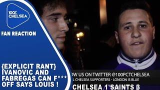 Chelsea-Fan steigert sich bei Interview in Schimpftirade hinein