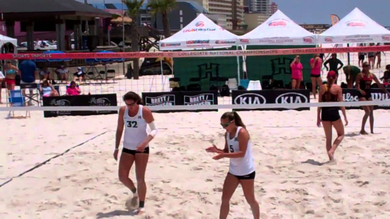 AVCA Nationals Highlights vs. FIU & USC 5-2-14