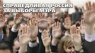 СПРАВЕДЛИВАЯ РОССИЯ за выборы мэра