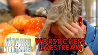 Video The WORST CHEFS On Kitchen Nightmares | Livestream Loop MP3, 3GP, MP4, WEBM, AVI, FLV November 2018