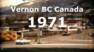 Vernon (BC) Canada  city photo : Vernon British Columbia Canada 1971