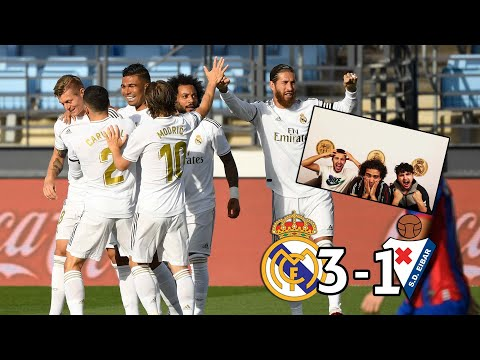 REAL MADRID ONLY NEEDS 45 MINS TO BEAT EIBAR! | REACTION - REACCIONES