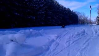 8. 100 mph pass Arctic Cat Thundercat