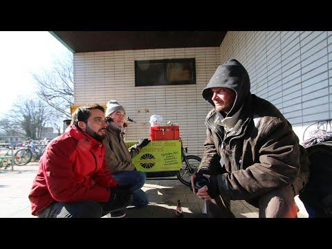 Nothilfe für Obdachlose: Die Lastenrad-Samariter