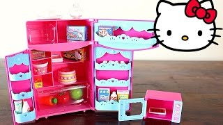 Hi Guys!This is the Hello Kitty Kitchen Refrigerator and Microwave Playset!This playset also have lots of Hello Kitty food and hello kitty pots and bowls.This is the perfect set for a Hello Kitty house!Hope you enjoy!Toy Club! xxx