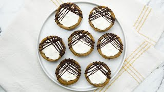 Chocolate Chip Cookie Cheesecake Cups // Presented by LG USA by Tasty