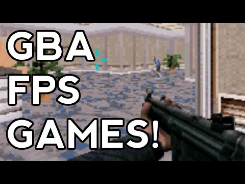 Gameboy Advance First-Person Shooter Roundup - minimme