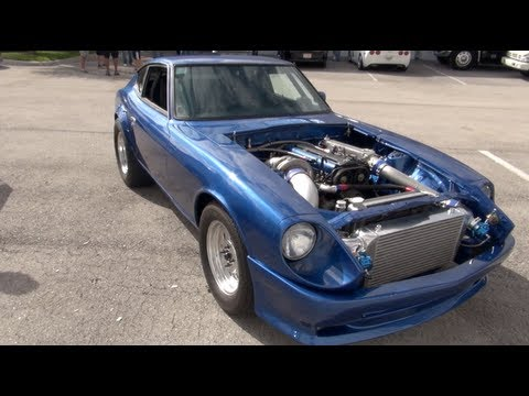 2JZ Powered Datsun 280z battles 830whp Evo IX plus bonus race – TRC Throwback
