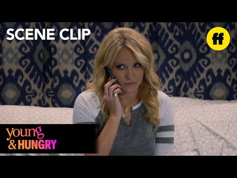 Young & Hungry | Season 5, Episode 1: Gabi and Josh Talk on the Phone | Freeform