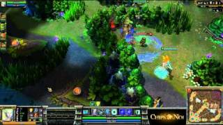 (HD053) 5c5 Final PowerLeague -part 2- League Of Legends Replay [FR]