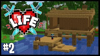 I'VE LEFT THE ONE HEART GANG.. (NEW BASE!!)   Minecraft X Life SMP   #2