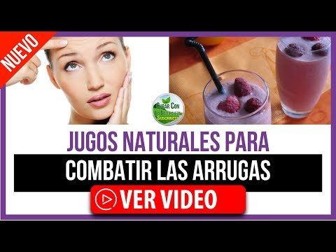 Peso ideal - JUGOS NATURALES PARA COMBATIR ARRUGAS   JUGOS PARA NO ENVEJECER