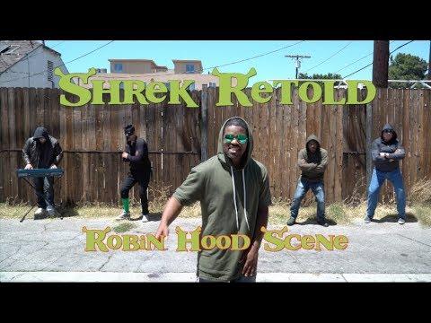 Shrek ReTold - Robin Hood Scene