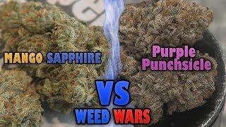 WEED WARS: Mango Sapphire vs Purple Punchsicle by Urban Grower