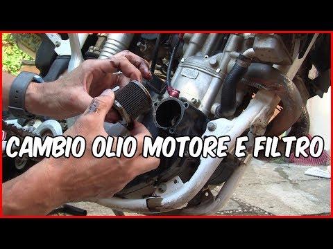 Cambio Olio e Filtro Motore Moto - Husqvarna TE450 4 tempi