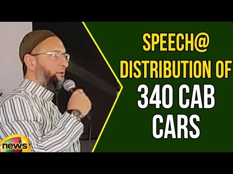 Video Asaduddin Owaisi Speech At Distribution Of 340 Cab Cars Under Driver Empowerment Scheme | Mango News download in MP3, 3GP, MP4, WEBM, AVI, FLV January 2017