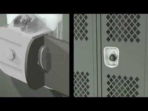 Screen capture of Master Lock 1690 Locker Lock - Wrap Around Technology
