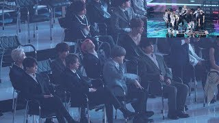 Video 190424 BTS Reaction to StrayKids (스트레이키즈 무대보는 방탄소년단) 4K 직캠 by 비몽 MP3, 3GP, MP4, WEBM, AVI, FLV April 2019