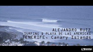 Alejandro Ruiz // Surfing // Playa de las Américas Tenerife // Canary Islands Video @ManuelWave.