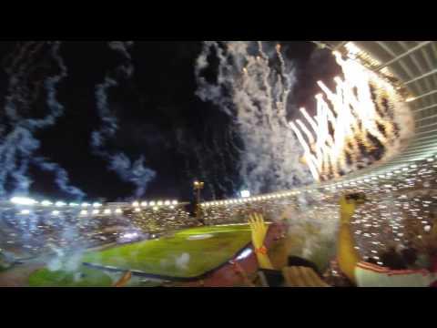 Recibimiento River Campeón - Final Copa Argentina 16' - Los Borrachos del Tablón - River Plate