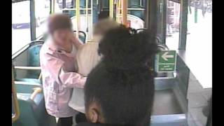 Teenage girl caught on CCTV punching 87-year-old woman in the face on Coulsdon bus