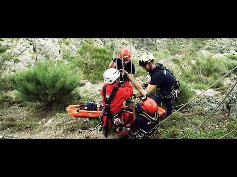 Exercício de Resgate em Montanha. Mondim de Basto