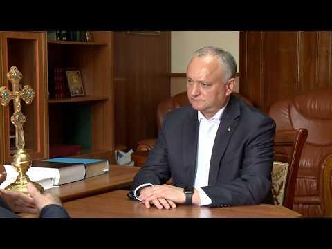 Președintele Republicii Moldova a avut o întrevedere cu Episcopul de Bălți și Fălești