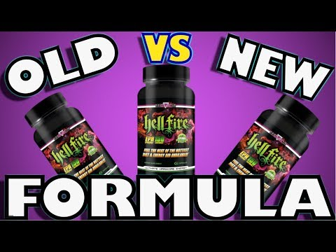 HELLFIRE FAT BURNER OLD VS NEW 2018 (UPDATED)