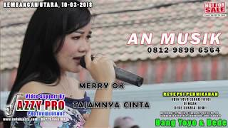Download Lagu JAZZY PRO HD - AN MUSIK - TAJAMNYA CINTA - MERRY OK Mp3