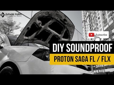 PROJEK D.I.Y. PASANG SOUNDPROOF BONET | Proton Saga FL / FLX