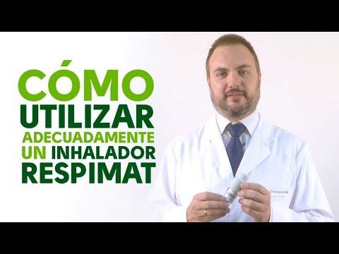 Cómo utilizar correctamente un inhalador Respimat
