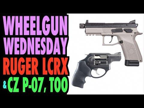Wheelgun Wednesday (and a CZ P-07, Too) (видео)